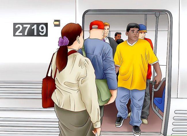 Prent getiteld Ry die Washington D.C. Metro Stap 11