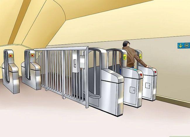 Prent getiteld Ry die Washington D.C. Metro Stap 7