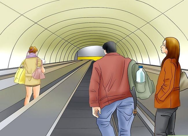 Prent getiteld Ry die Washington D.C. Metro Stap 8
