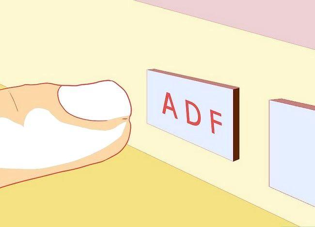 Hoe om te navigeer tydens die vlug met die ADF