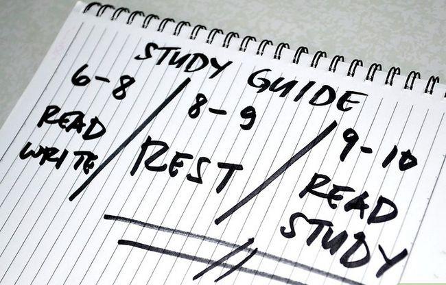 Prent getiteld Stel tyd om Stap 4 te bestudeer