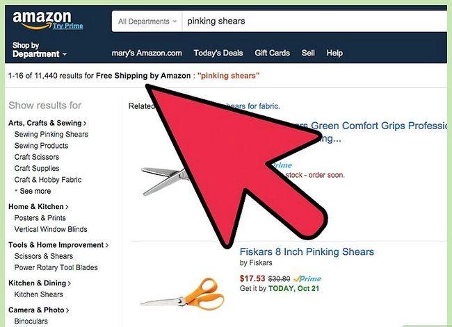 Prent getiteld Kry gratis verskeping op Amazon Stap 4