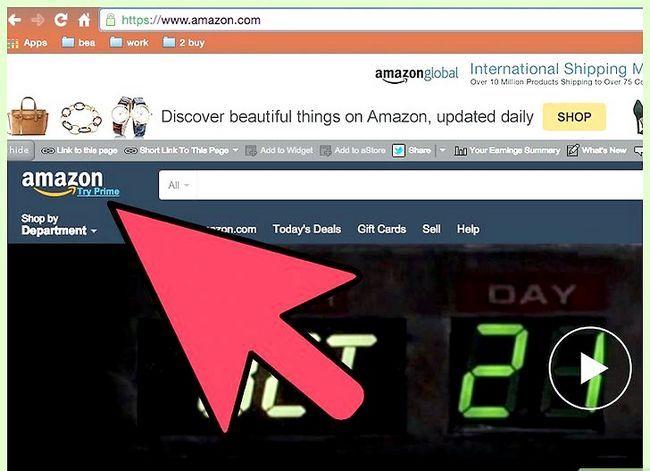 Beeld getiteld Kry gratis verskeping op Amazon Stap 10