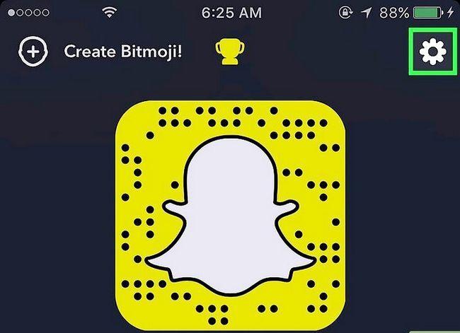 Prent getiteld Kry meer filters op Snapchat Stap 12