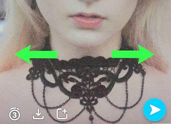 Prent getiteld Kry meer filters op Snapchat Stap 16