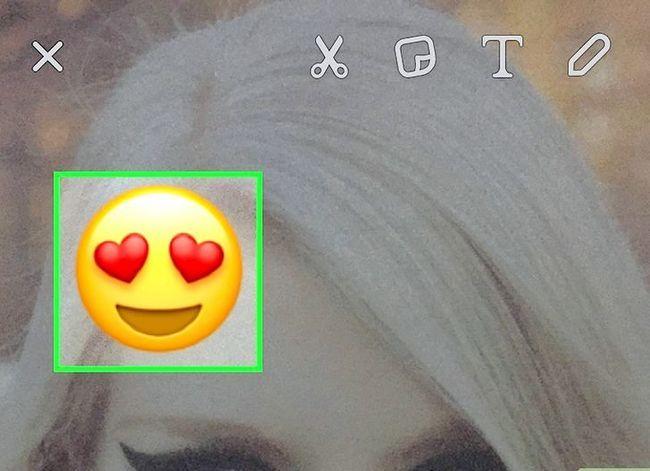 Prent getiteld Kry meer filters op Snapchat Stap 25