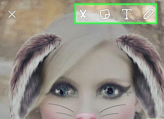 Prent getiteld Kry meer filters op Snapchat Stap 30