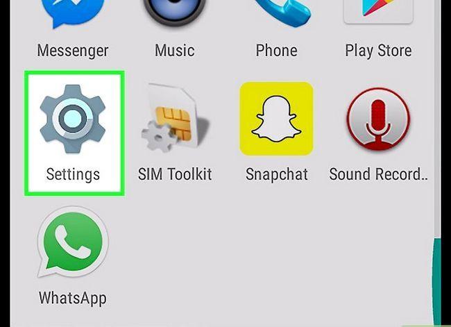 Prent getiteld Kry meer filters op Snapchat Stap 5