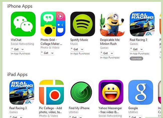 Beeld getiteld Kry gratis iTunes Music Stap 11