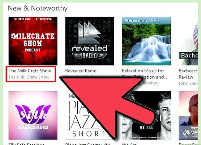 Prent getiteld Kry gratis iTunes Music Stap 15