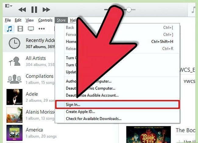 Prent titel Get free iTunes Music Step 3