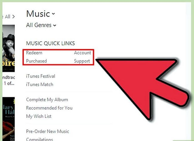 Prent getiteld Kry gratis iTunes Music Stap 5
