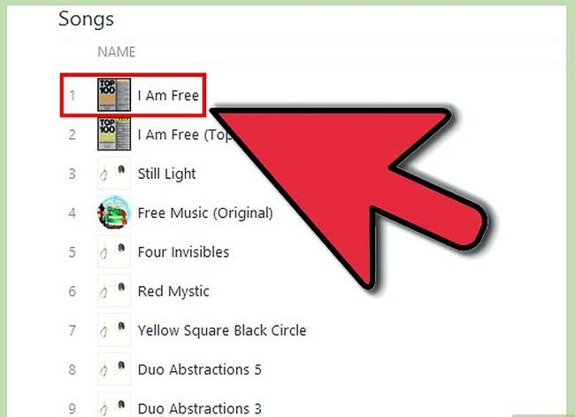 Beeld getiteld Kry gratis iTunes Music Stap 7