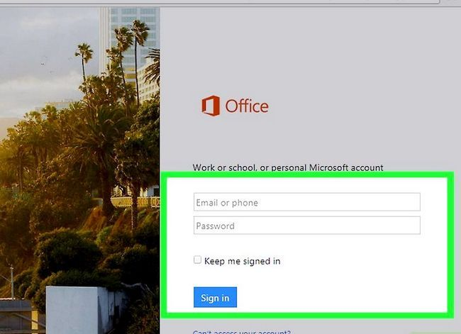 Prent getiteld Kry Microsoft Office gratis Stap 11
