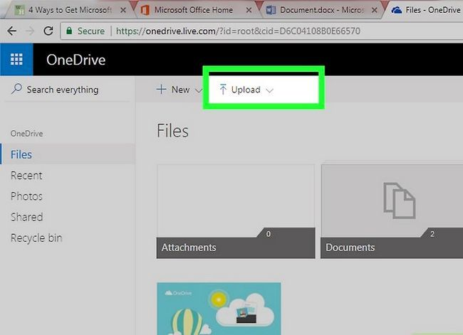 Prent getiteld Kry Microsoft Office gratis Stap 14
