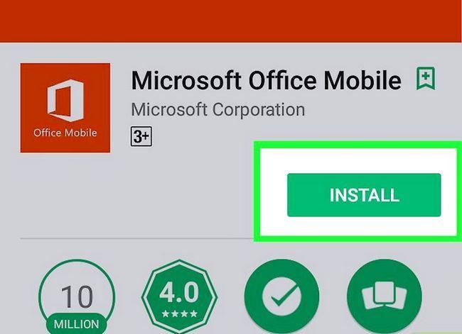 Prent getiteld Kry Microsoft Office gratis Stap 15