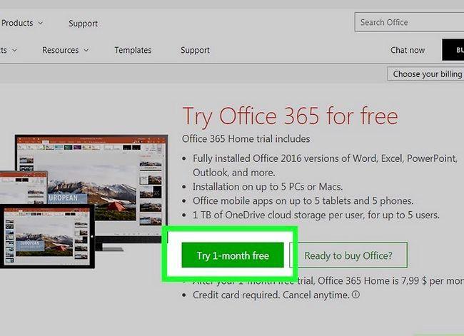Prent getiteld Kry Microsoft Office vir gratis stap 3