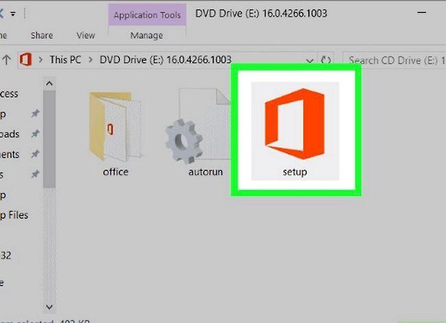 Prent getiteld Kry Microsoft Office gratis Stap 7