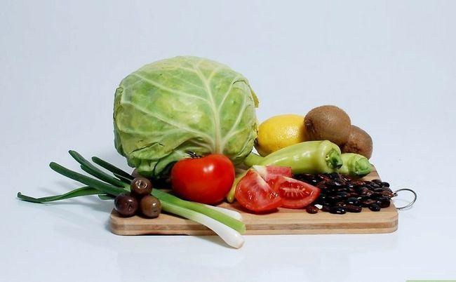 Prent getiteld Kry alle voedingstowwe as `n vegetariese stap 3