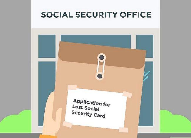 Prent getiteld Kry `n duplikaat sosiale sekerheidskaart Stap 14