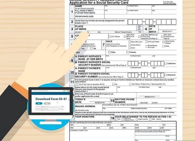 Prent getiteld Kry `n duplikaat sosiale sekerheidskaart Stap 17