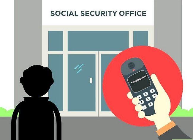 Prent getiteld Kry `n duplikaat sosiale sekerheidskaart Stap 20