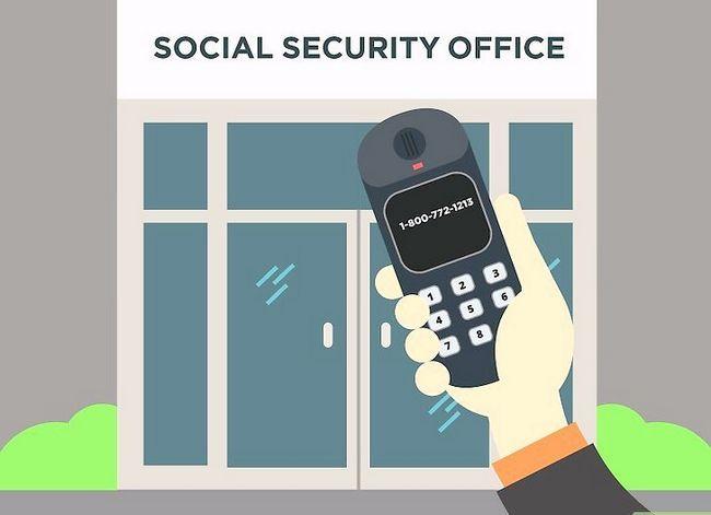 Prent getiteld Kry `n duplikaat sosiale sekerheidskaart Stap 28