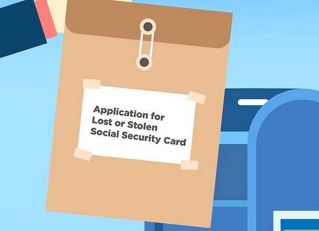 Prent getiteld Kry `n duplikaat sosiale sekerheidskaart Stap 7