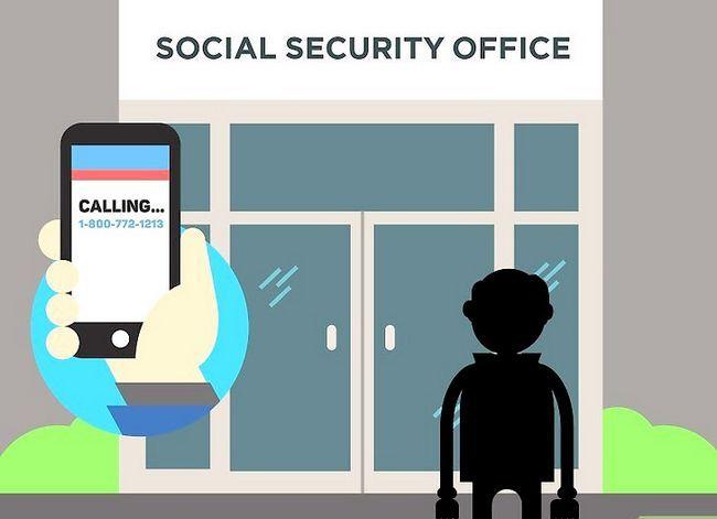Prent getiteld Kry `n duplikaat sosiale sekerheidskaart Stap 10