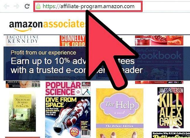 Prent getiteld Kry `n Amazon Affiliate ID Stap 1
