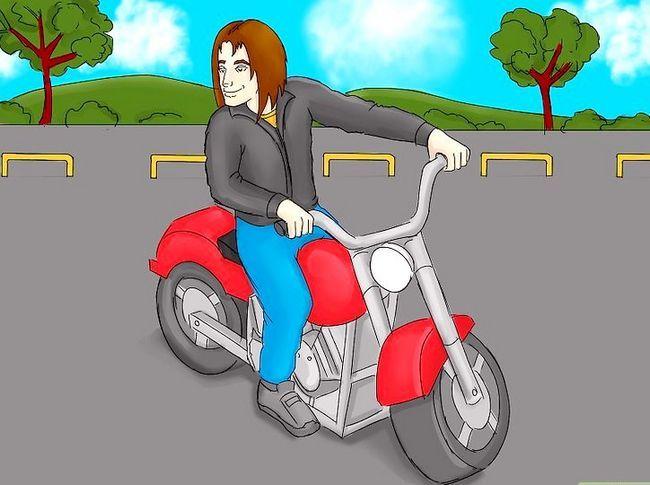 Prent titel Get a Motorcycle License Stap 8