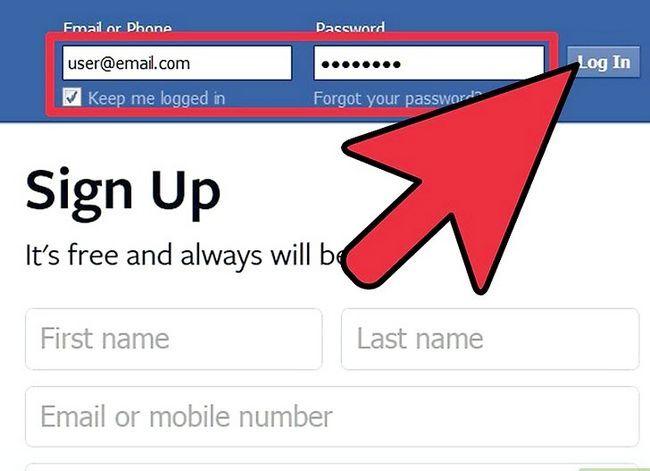 Prent getiteld Organiseer Aktiwiteite op Facebook Stap 1