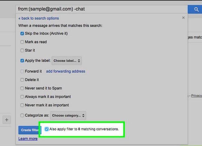 Prent getiteld Organiseer jou Gmail-posbus Stap 11