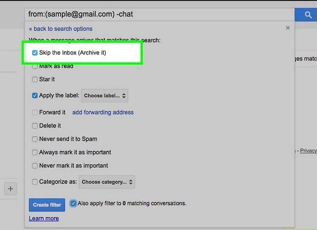 Prent getiteld Organiseer jou Gmail-posbus Stap 9