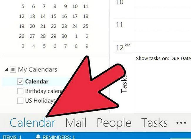 Prent getiteld Organiseer jouself met behulp van Microsoft Outlook Stap 11