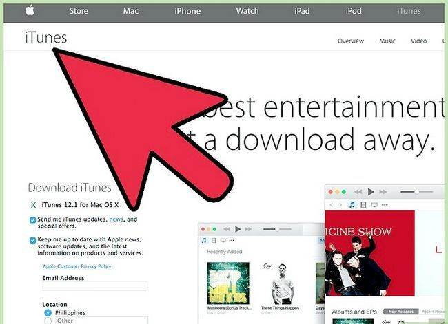 Prent titel Get songs from iTunes na `n iPod Nano Step 1