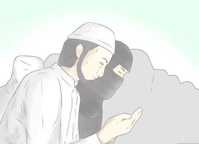 Prent getiteld Vra Allah vir Vergifnis Stap 17