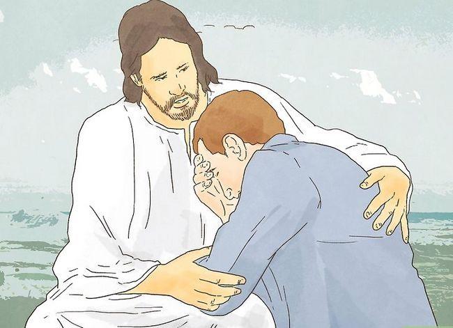 Prent getiteld Vra God vir Vergifnis Stap 7