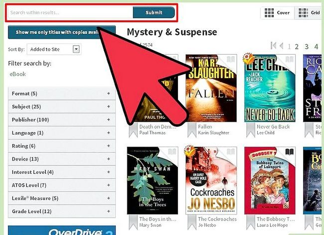 Prent getiteld Leenboeke op Kindle Stap 6