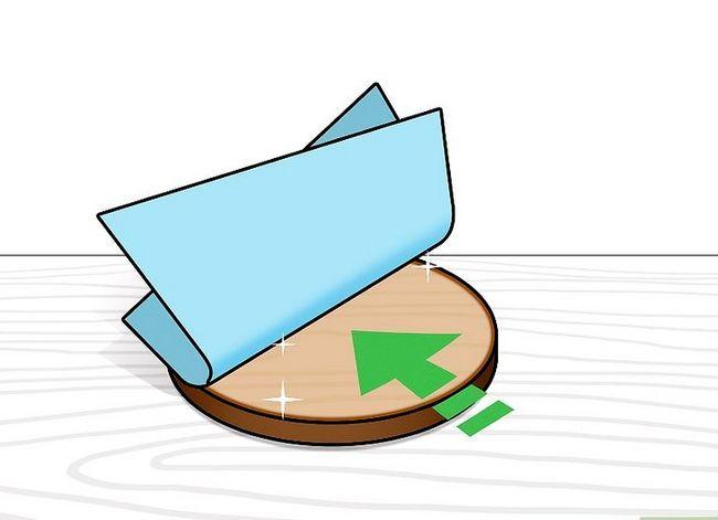 Prent getiteld Heg plastiek aan Hout Stap 3