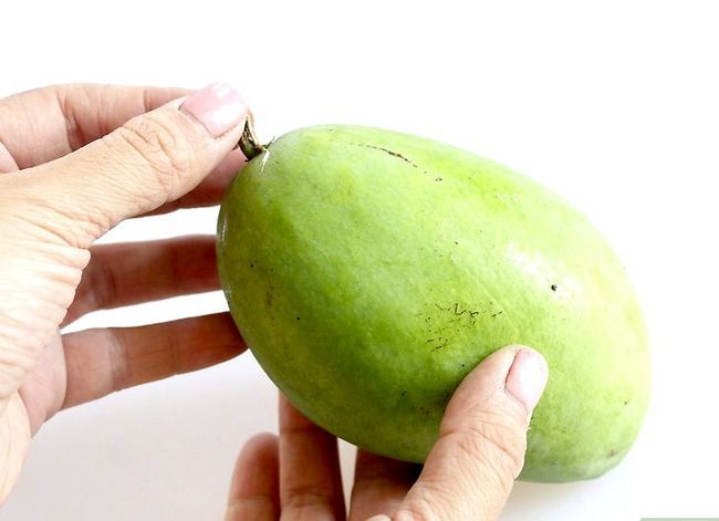 Prent getiteld Skaal `n Mango Stap 1
