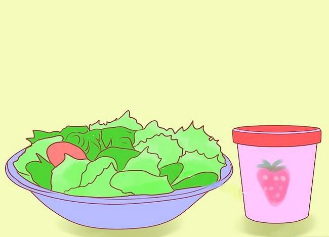 Prent getiteld Beplan `n gesonde dieet Stap 1