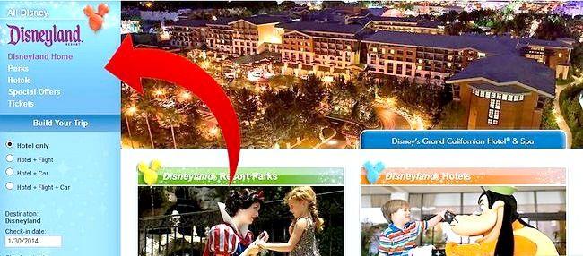 Prent getiteld Beplan `n Disney Vacation Stap 2