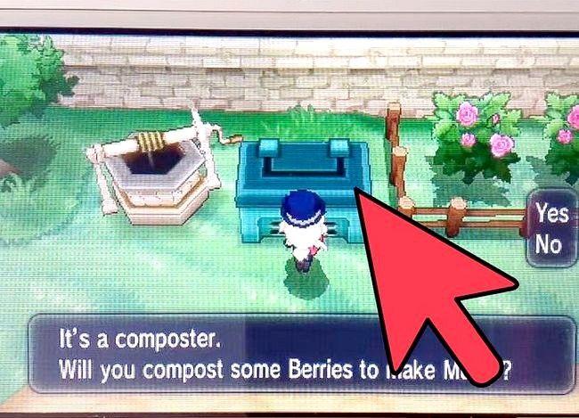 Prent getiteld Plant Bessies in Pokemon X en Y Stap 3