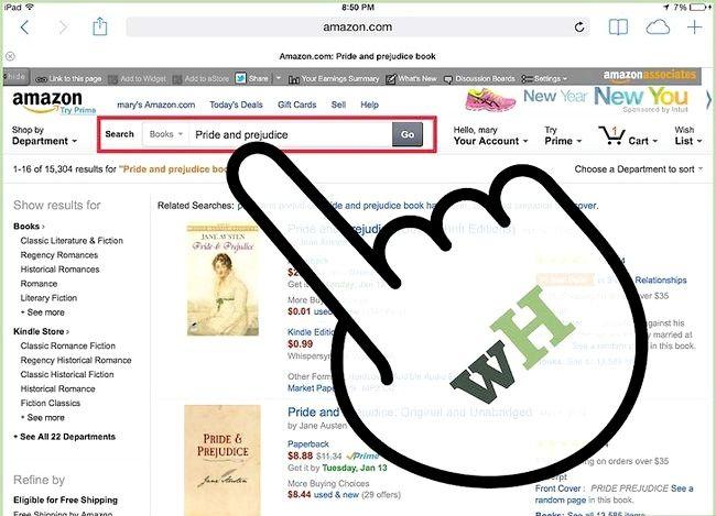 Prent getiteld Plaas `n e-boek op `n iPad Stap 21