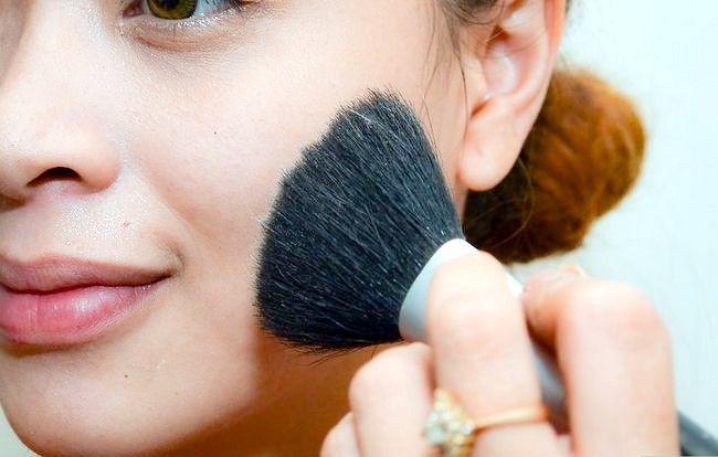 Prent getiteld Sit op Ligte make-up (vir tieners) Stap 2