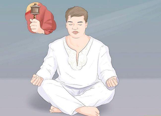 Prent getitelde Praktyk Boeddhistiese Meditasie Stap 11