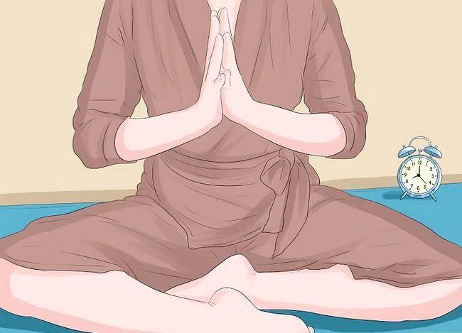 Prent getiteld Praktyk Boeddhistiese Meditasie Stap 13