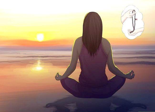 Prent getiteld Praktyk Boeddhistiese Meditasie Stap 16