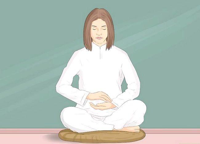 Prent getitelde Praktyk Boeddhistiese Meditasie Stap 4